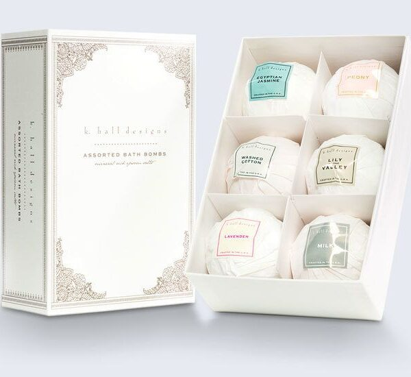 Custom Bath Bombs Boxes
