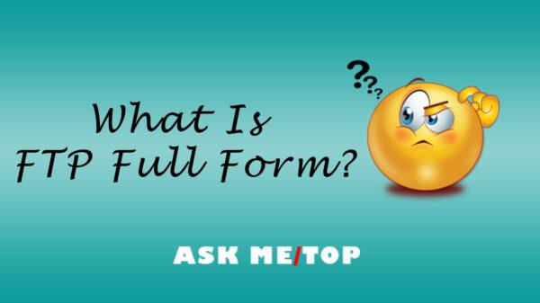 FTP Full Form