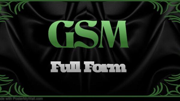 GSM Full Form