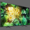 The Sony Bravia X7400 Series Comes With _____________ Display. Fill In The Blanks.