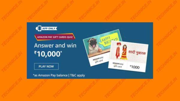 amazon pay gift card quiz